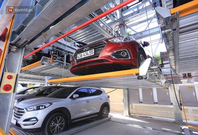 Cận cảnh bãi đỗ xe 6 tầng thông minh, tự động xếp hình đầu tiên ở Đà Nẵng - Ảnh 10.