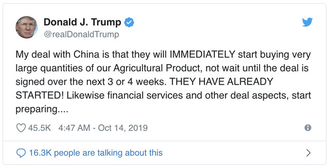 Chuyên gia của Morgan Stanley, ANZ: Cái bắt tay của Mỹ và Trung Quốc không có nhiều ý nghĩa! - Ảnh 1.
