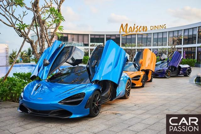 Theo chân Cường Đô-la khám phá siêu xe McLaren 720S: Cuộc hội ngộ hiếm hoi của dàn xế hộp trăm tỷ tại Việt Nam - Ảnh 2.