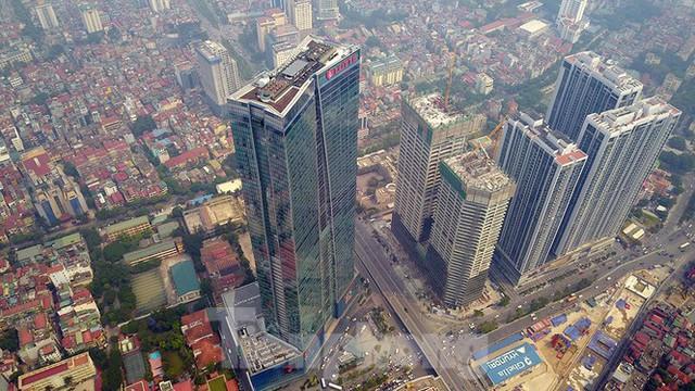 Chiêm ngưỡng top 3 tòa nhà cao nhất Hà Nội qua góc nhìn Flycam - Ảnh 7.