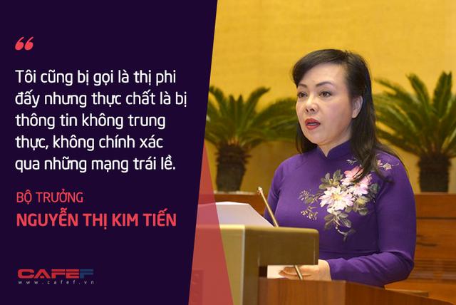 Bộ trưởng Nguyễn Thị Kim Tiến: Tôi chả dám chấm điểm cho mình! - Ảnh 3.