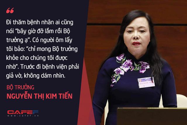Bộ trưởng Nguyễn Thị Kim Tiến: Tôi chả dám chấm điểm cho mình! - Ảnh 5.