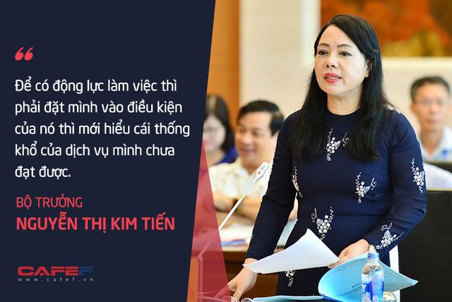 Bộ trưởng Nguyễn Thị Kim Tiến: Tôi chả dám chấm điểm cho mình! - Ảnh 6.