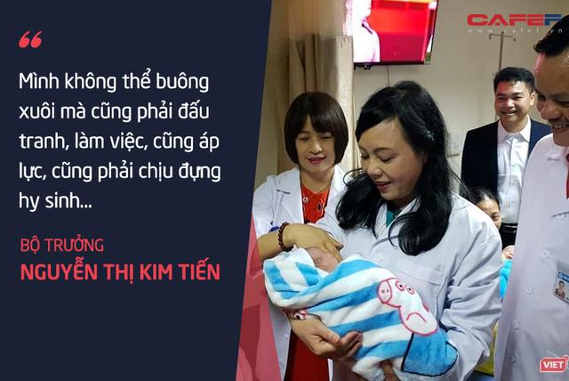 Bộ trưởng Nguyễn Thị Kim Tiến: Tôi chả dám chấm điểm cho mình! - Ảnh 8.