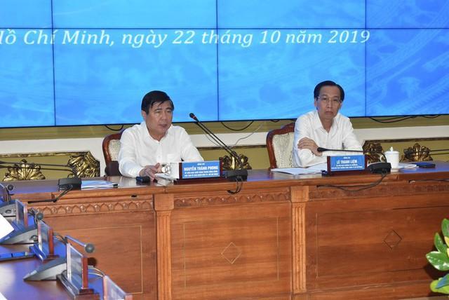 Chủ tịch UBND TP HCM: Xử nghiêm lãnh đạo quận Thủ Đức xây dựng không phép  - Ảnh 1.