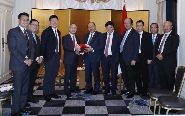 Thủ tướng tiếp tập đoàn đầu tư tài chính lớn nhất Nhật Bản - Ảnh 2.