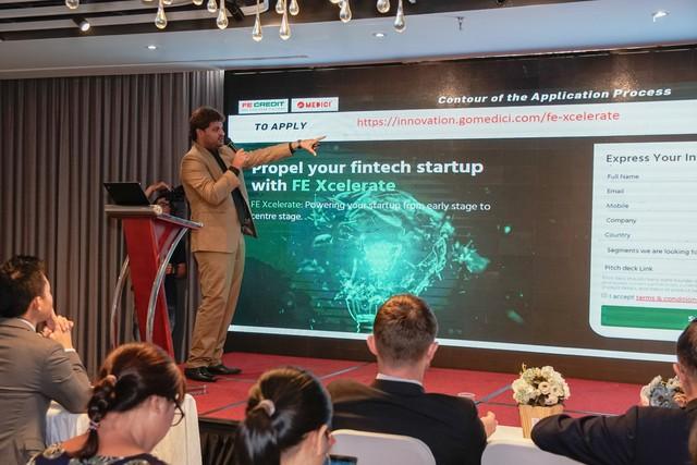 FE Credit hợp tác với công ty đa quốc gia tạo lập sân chơi mới cực đỉnh, dành riêng cho Startup Fintech - Ảnh 1.