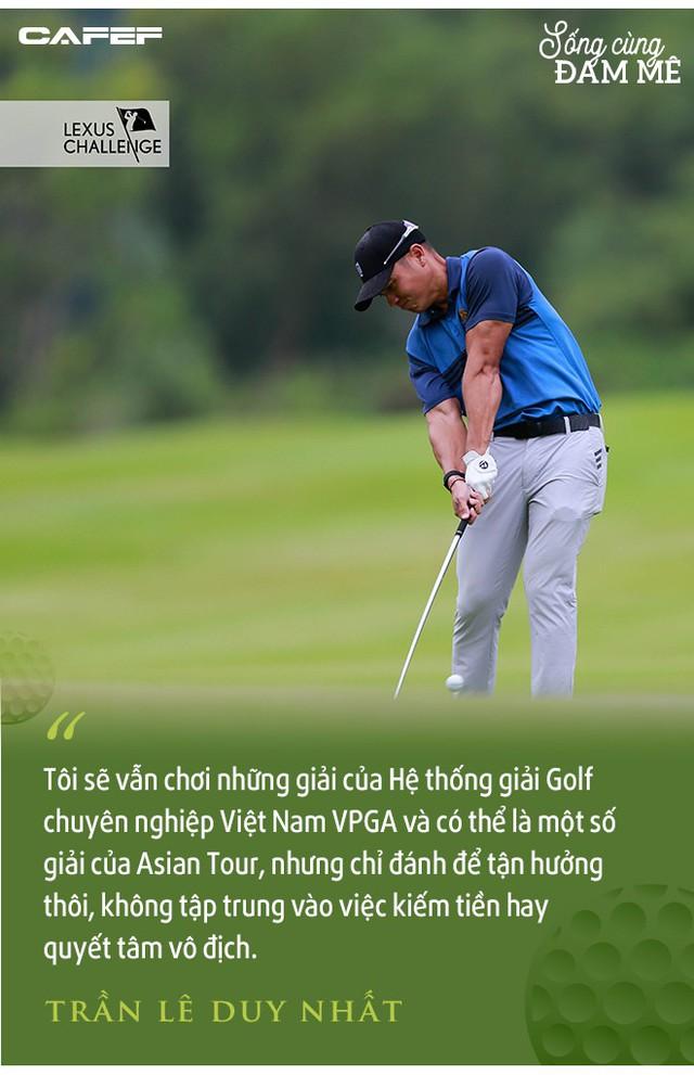 """Golfer chuyên nghiệp số 1 Việt Nam – Trần Lê Duy Nhất: """"Áp lực ở giải VPGA vì mọi người nghĩ, tôi chơi thì phải là người thắng"""" - Ảnh 3."""
