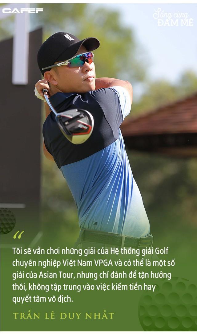 """Golfer chuyên nghiệp số 1 Việt Nam – Trần Lê Duy Nhất: """"Áp lực ở giải VPGA vì mọi người nghĩ, tôi chơi thì phải là người thắng"""" - Ảnh 6."""