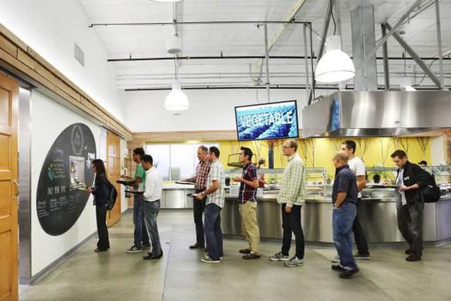 Tò mò suất ăn của nhân viên những công ty đình đám nhất thế giới: Văn phòng Google, Apple, Facebook chẳng thua nhà hàng 5 sao - Ảnh 3.