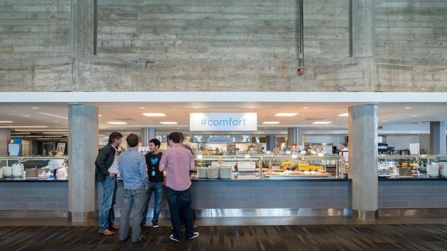Tò mò suất ăn của nhân viên những công ty đình đám nhất thế giới: Văn phòng Google, Apple, Facebook chẳng thua nhà hàng 5 sao - Ảnh 23.