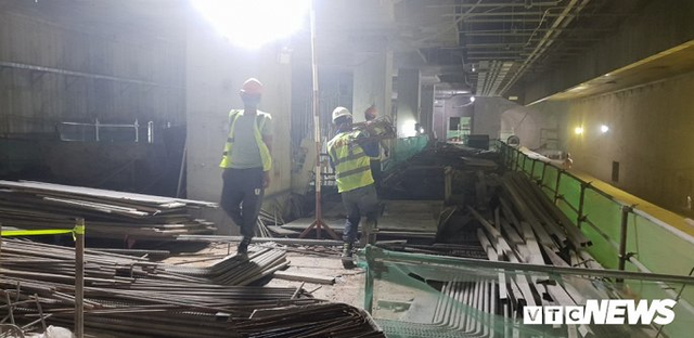Cận cảnh đường hầm metro Bến Thành - Suối Tiên có nguy cơ trễ hẹn khai thác vào năm 2020 - Ảnh 8.