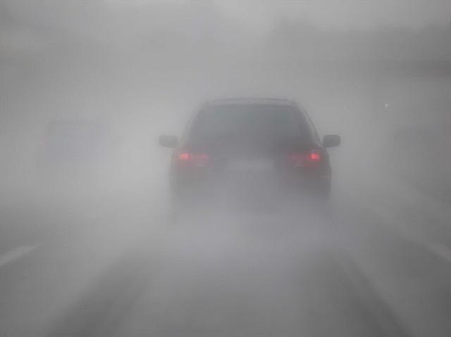 Kinh nghiệm nằm lòng khi lái xe trong thời tiết sương mù - Ảnh 2.