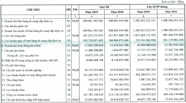 Không còn nguồn thu từ tiền đền bù, Cảng Hải Phòng (PHP) giảm 27% lãi ròng quý 3 - Ảnh 1.