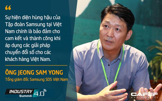Tổng giám đốc Samsung SDS Việt Nam: Tiềm năng trở thành công xưởng thế giới của Việt Nam là một lợi thế trong tiến trình chuyển đổi số - Ảnh 2.