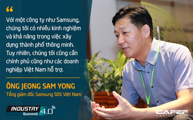 Tổng giám đốc Samsung SDS Việt Nam: Tiềm năng trở thành công xưởng thế giới của Việt Nam là một lợi thế trong tiến trình chuyển đổi số - Ảnh 3.