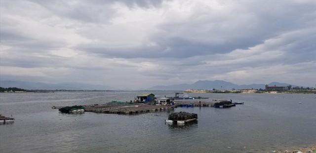 Thủ phủ nuôi thủy sản bán tháo tôm cá trước giờ bão số 5 đổ bộ - Ảnh 1.