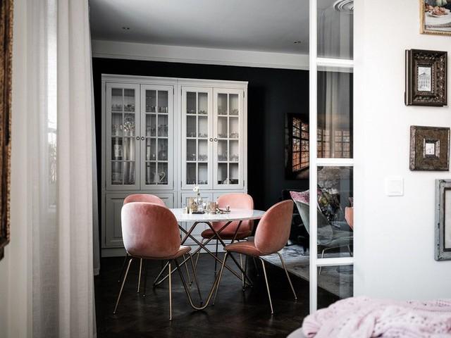 Căn hộ rộng 61m² đẹp bí ẩn, sang trọng nhờ bài trí sắc màu trung tính vô cùng ăn ý - Ảnh 9.