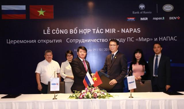 BIDV là ngân hàng đầu tiên tại Việt Nam triển khai chấp nhận thanh toán thẻ MIR trên POS - Ảnh 1.