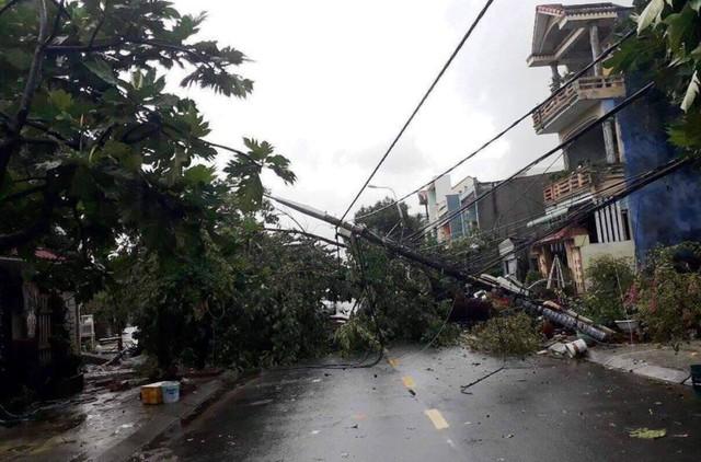 Đà Nẵng: Hàng loạt cây xanh ngã chắn đường, giao thông hỗn loạ - Ảnh 3.  Đà Nẵng: Hàng loạt cây xanh ngã chắn đường, giao thông hỗn loạ photo 2 15724941097051967944677