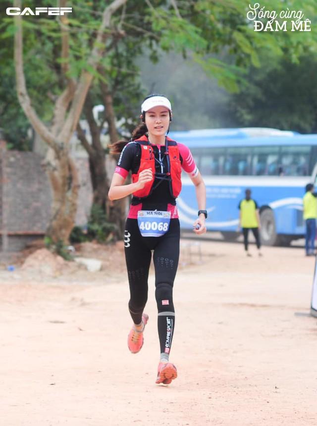 Hoa hậu Nguyễn Thu Thủy: Chạy marathon thì không bốc phét được! - Ảnh 3.