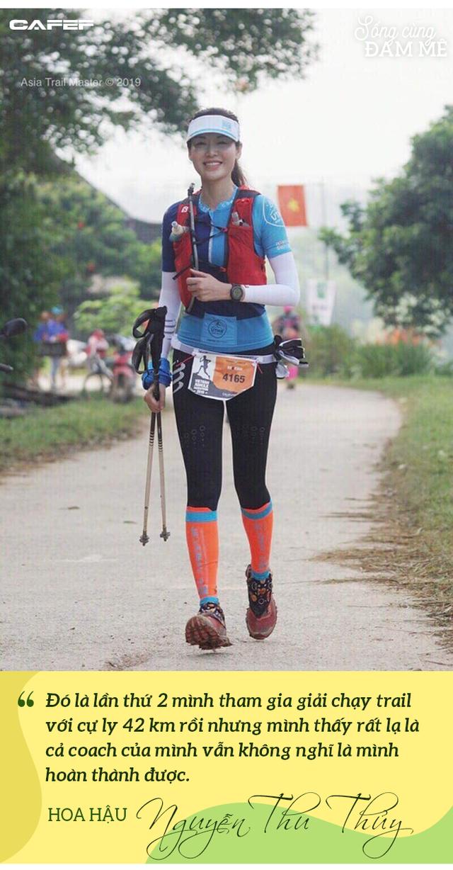 Hoa hậu Nguyễn Thu Thủy: Chạy marathon thì không bốc phét được! - Ảnh 5.
