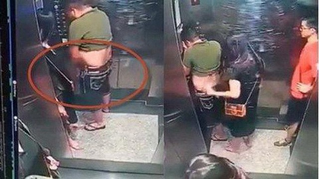Người tiểu bậy trong thang máy chung cư Moscow Tower lên tiếng xin lỗi - Ảnh 1.