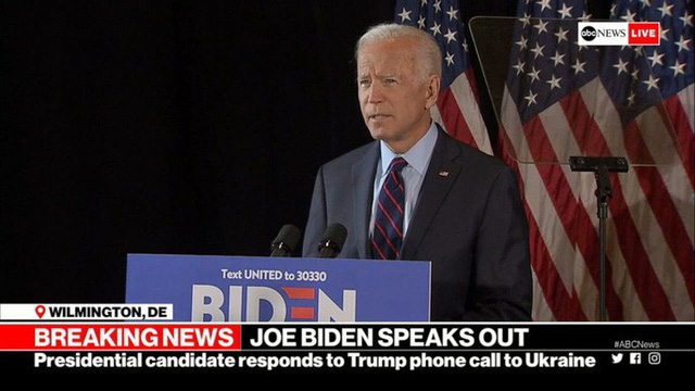 Lời tố cáo nặng nề của ông Biden đối với Tổng thống Trump  - Ảnh 1.