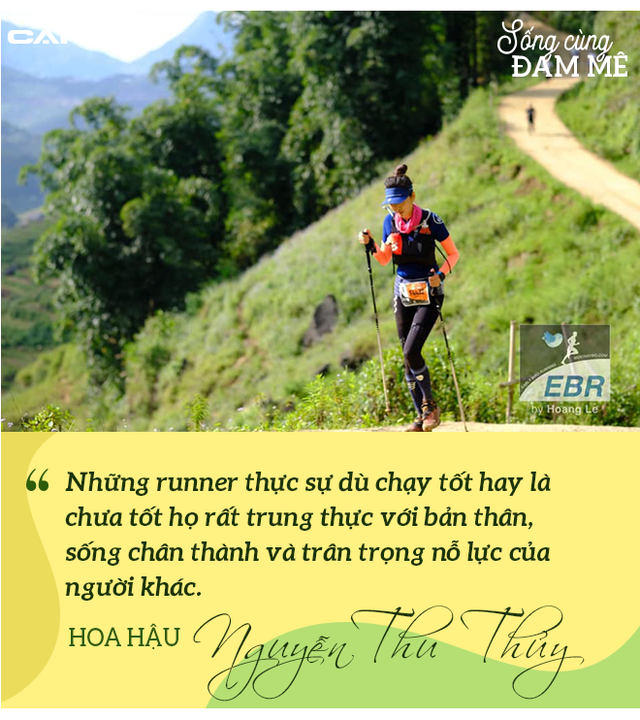 Hoa hậu Nguyễn Thu Thủy: Chạy marathon thì không bốc phét được! - Ảnh 14.