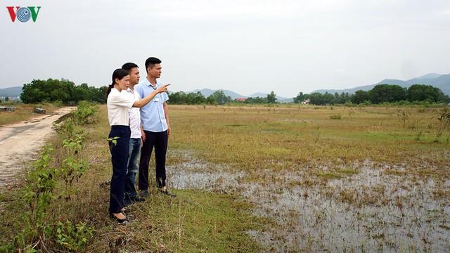 Cò thổi giá đất giáp ranh TP Hạ Long tăng chóng mặt - Ảnh 1.
