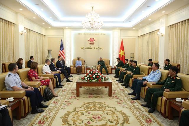 Thượng tướng Nguyễn Chí Vịnh nói về cam kết đến cuối cùng' Việt - Mỹ - Ảnh 2.