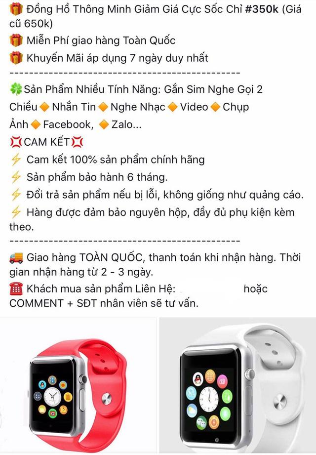 Apple Watch xuất hiện nhan nhản trên thị trường với giá chưa tới 500.000 đồng - Ảnh 1.