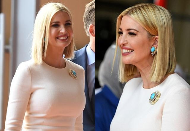 Đến nữ thần Ivanka Trump cũng không thoát khỏi sự nghiệt ngã của thời gian, để lộ vẻ xuống sắc, già nua cùng những chi tiết kém sang - Ảnh 5.