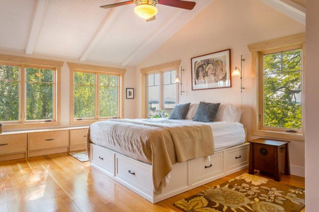 Những kiểu giường đột phá về thiết kế và sự tiện dụng cho phòng ngủ tý hon - Ảnh 1.