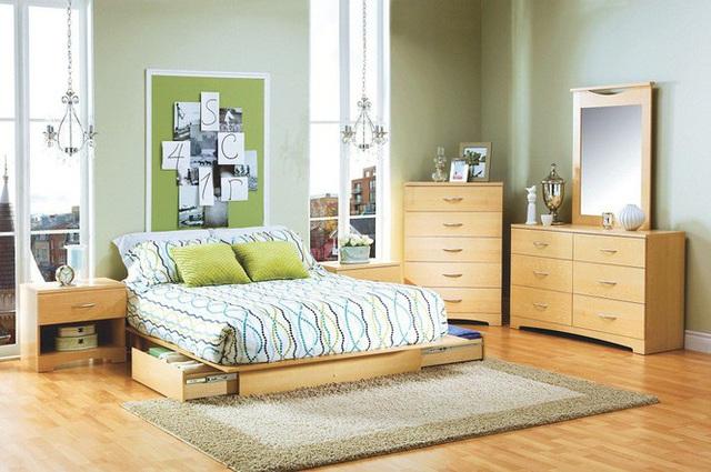 Những kiểu giường đột phá về thiết kế và sự tiện dụng cho phòng ngủ tý hon - Ảnh 6.