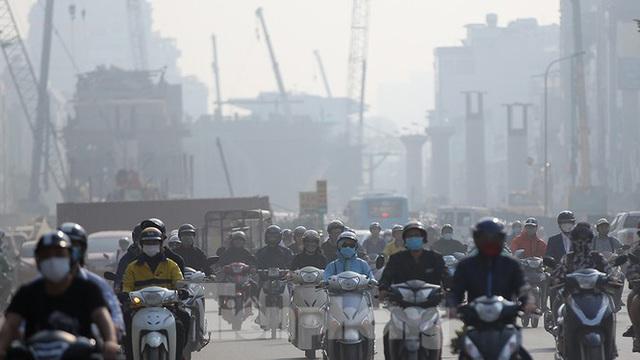Hà Nội lại chìm trong ô nhiễm, khuyến cáo người dân hạn chế ra đường - Ảnh 7.