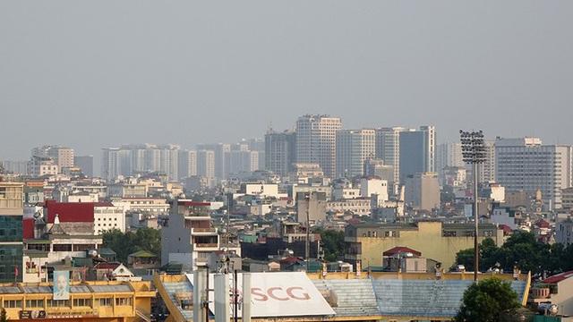 Hà Nội lại chìm trong ô nhiễm, khuyến cáo người dân hạn chế ra đường - Ảnh 8.