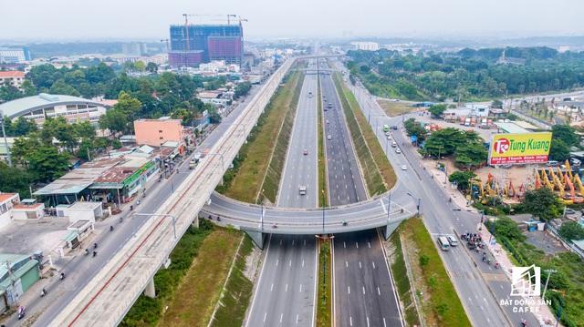 Toàn cảnh hạ tầng giao thông đồ sộ ở 4 cửa ngõ khu Đông Sài Gòn, nơi thị trường BĐS phát triển như vũ bão - Ảnh 1.  Toàn cảnh hạ tầng giao thông đồ sộ ở 4 cửa ngõ khu Đông Sài Gòn, nơi thị trường BĐS phát triển như vũ bão dji0373 1573542337846265497295