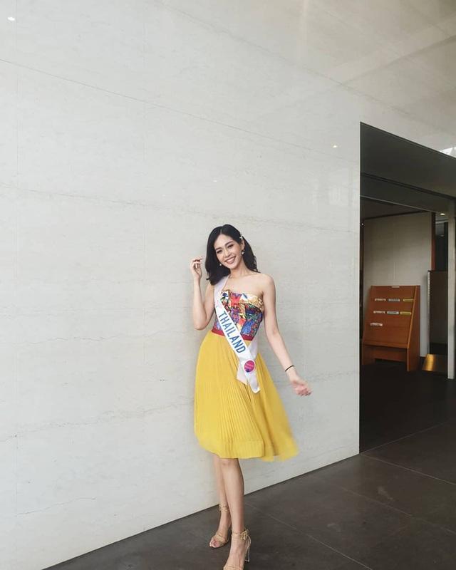 Tân Hoa hậu Quốc tế 2019: Biết là xinh đẹp nhưng nhan sắc ít phấn son mới gây bất ngờ, style cũng chất chẳng kém ai - Ảnh 4.
