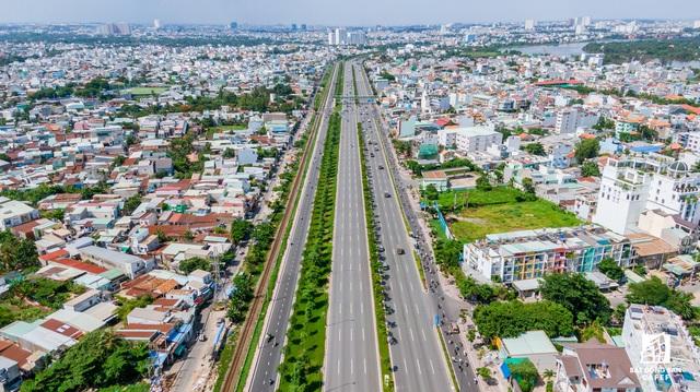 Toàn cảnh hạ tầng giao thông đồ sộ ở 4 cửa ngõ khu Đông Sài Gòn, nơi thị trường BĐS phát triển như vũ bão - Ảnh 8.  Toàn cảnh hạ tầng giao thông đồ sộ ở 4 cửa ngõ khu Đông Sài Gòn, nơi thị trường BĐS phát triển như vũ bão dji0081 1573697819245960260231