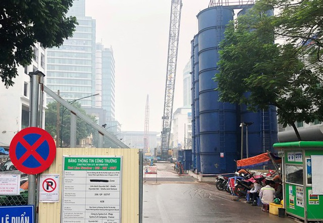 Cận cảnh các công trình thi công rùa gây ô nhiễm bụi - Ảnh 8.