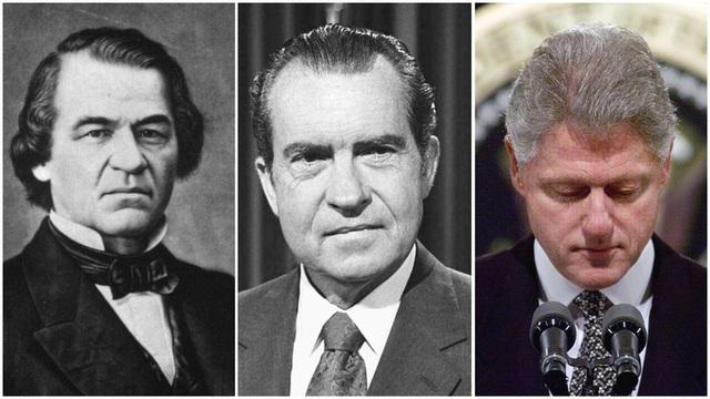 Những vụ luận tội Tổng thống trong lịch sử nước Mỹ - Ảnh 1.