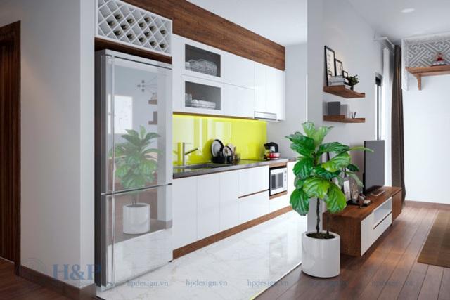 Đầu tư 187 triệu cho nội thất căn hộ 86m2 đơn giản, đẹp và hiện đại - Ảnh 3.