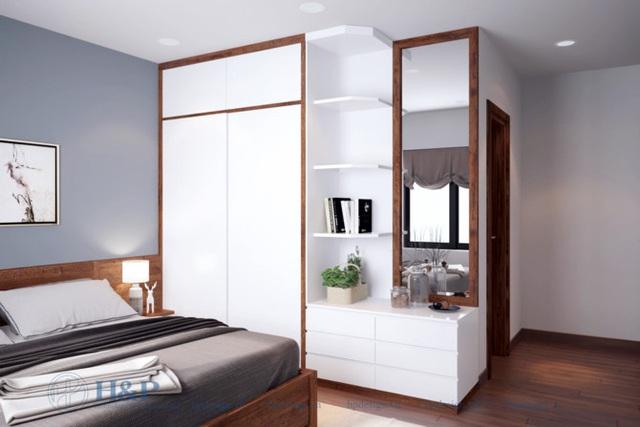 Đầu tư 187 triệu cho nội thất căn hộ 86m2 đơn giản, đẹp và hiện đại - Ảnh 5.
