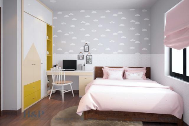 Đầu tư 187 triệu cho nội thất căn hộ 86m2 đơn giản, đẹp và hiện đại - Ảnh 8.