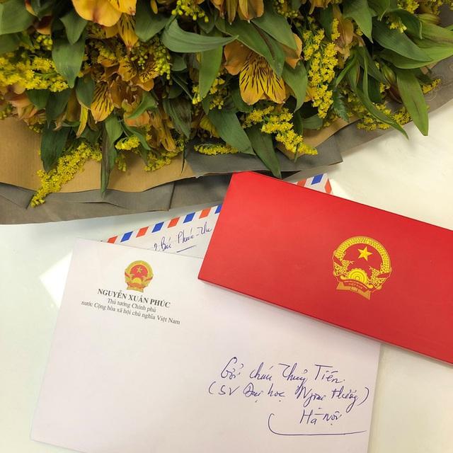 Nữ sinh Ngoại thương mắc ung thư được Thủ tướng Nguyễn Xuân Phúc gửi thư động viên: Bác tin rằng cháu sẽ là người chiến thắng - Ảnh 3.