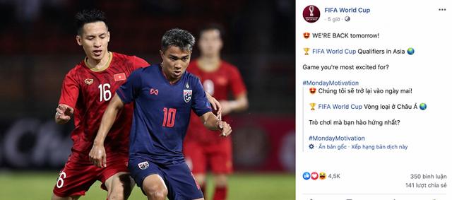 FIFA chọn Việt Nam vs Thái Lan là trận cầu tâm điểm thế giới - Ảnh 1.