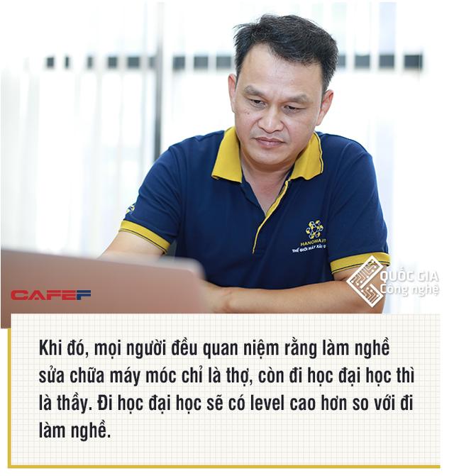 Nhà sáng lập sàn TMĐT máy công nghiệp Hanoma.vn: Tôi thà để lại cho con sản phẩm có ích cho xã hội còn hơn vài cái nhà, bán đi tiêu là hết - Ảnh 3.