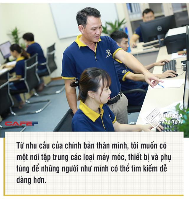 Nhà sáng lập sàn TMĐT máy công nghiệp Hanoma.vn: Tôi thà để lại cho con sản phẩm có ích cho xã hội còn hơn vài cái nhà, bán đi tiêu là hết - Ảnh 5.