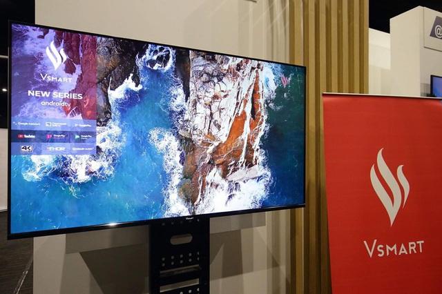 VinSmart ra mắt ti vi thông minh chạy hệ điều hành Android TV, sẽ đến tay người dùng vào tháng 12 - Ảnh 1.